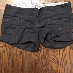 A&F Navy Shorts
